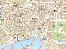Madrid Spain Map Mapas Turísticos De Monumentos Em Barcelona Espanha Barcelona