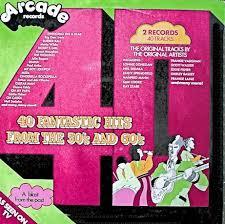Vanity Fair Hitchin A Ride Various 40 Fantastic Hits From The 50 U0027s And 60 U0027s Vinyl Lp At