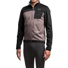 hooded cycling jacket pearl izumi select escape soft shell cycling jacket for men