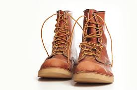 s rugged boots s rugged leather boots stock image image of builder 15595597