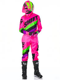 pink motocross boots shift black pink 2017 label whit3 tarmac mx pant shift