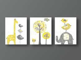 Yellow And Grey Nursery Decor Yellow Gray Nursery Baby Decor Galerieanais Dma Homes