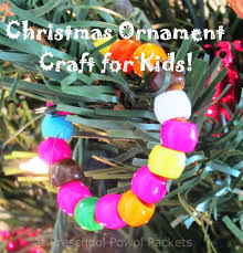 easy christmas ornament preschool craft preschool powol packets