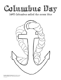 columbus day coloring pages getcoloringpages com