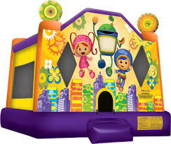 team umizoomi jump bay bay jumpers bounce house rentals
