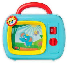 bed bath and beyond slo playgro sights and sounds music box tv toys for under 25