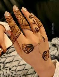 stunning back hand henna design hand henna henna designs and hennas