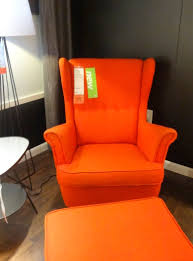 chair orange accent chairs