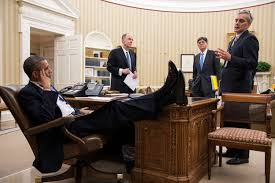 obama at desk photos barack obama s laid back feet up office style vanity fair