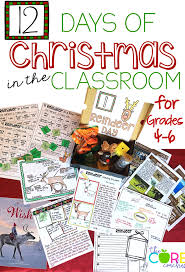 reindeer day themed lesson plans and activities to cover reading
