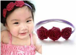 flower bands baby flower headbands trendy mods