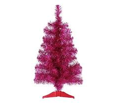 buy home 2ft tinsel tree pink at argos co uk your