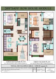 100 row home plans flooring row house floor plans