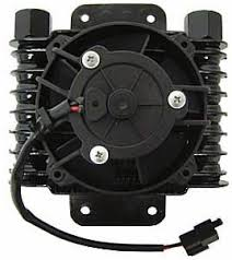 Amazon Com Northern Hurricane Oil Cooler With Fan Automotive