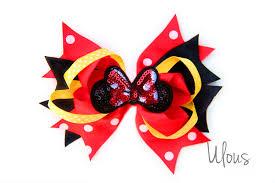 mickey mouse hair bow minnie mouse hair bow minnie mouse hair disney bow