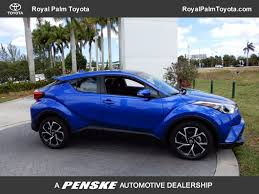 new toyota 2018 new toyota c hr xle fwd at royal palm toyota serving