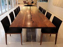 modern wood dining table with bench seating modern wood dining