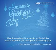 season s greetings and happy holidays innovapptive inc