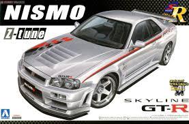 nissan skyline new model nismo r34 skyline gt r ztune model car images list