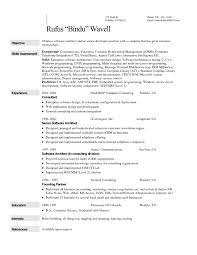 Sample Resume For Solution Architect by Sample Resume For Call Center Gallery Creawizard Com