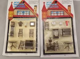 miniature dollhouse furniture 1 4 1 48 quarter scale lot of 5 sets