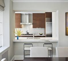 pass through kitchen kitchen modern with stainless steel
