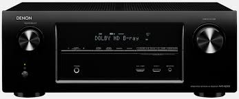 home theater receiver with blu ray player denon