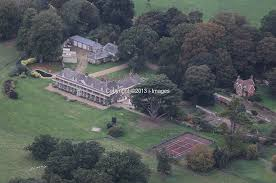 aerial views of anmer hall in anmer i images