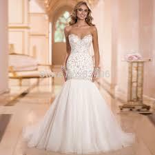 beautiful wedding gowns beautiful embroidery mermaid wedding dress 2017 sweetheart