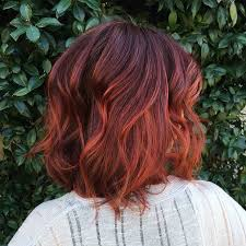 red brown long angled bobs 23 hottest ombre bob hairstyles latest ombre hair color ideas 2018