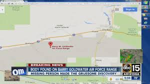 Ajo Arizona Map by Body Found On Barry Goldwater Air Force Range Youtube