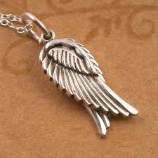 silver necklace wings images Sterling silver pair of angel wings necklace silver willow jewellery jpg