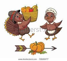 thanksgiving turkeys hold poster on stock vector 727186363