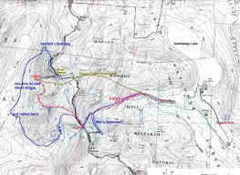 Ucsc Map A Mudworm U0027s Thoughts Blog Archive Mt Conness U2014 A Humbling