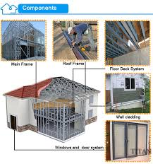 low cost china prefabricated homes modern design earthquake proof