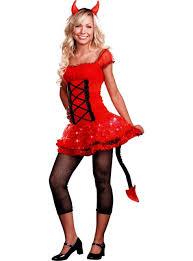 Halloween Costume Devil Teen Girls Lil U0027 Devil Light Costume Party Ad