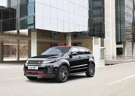 range rover truck black official range rover evoque u0027ember u0027 special edition gtspirit