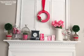 Valentine S Day Design Decor by 10 Beautiful Valentine U0027s Day Mantels The Crafting Nook By Titicrafty