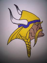 how to draw the minnesota vikings logo youtube art pinterest