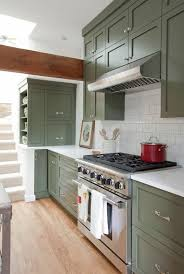 kitchen furniture vancouver green painted kitchen cabinets we right now apartment therapy