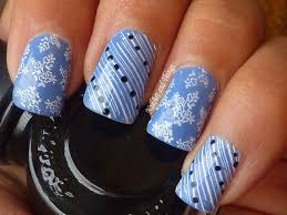 nailart and things periwinkle lace nail art