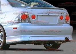 lexus is 300 kit lexus is series rear bumpers lexus is300 trd style rear bumper 00