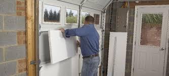 Interior Door Insulation Garage Lowes Garage Door Insulation Home Garage Ideas