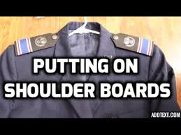 how to put shoulder boards on youtube