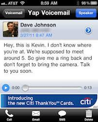 visual voicemail for android get transcribed voicemail on your iphone or android without
