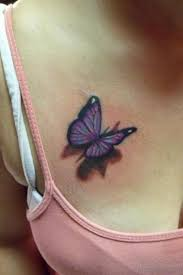69 most attractive butterfly tattoos for chest