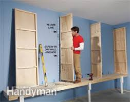 giant diy garage cabinet family handyman
