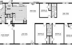 5 bedroom double wide floor plans incredible 5 bedroom double wide floor plans collection also
