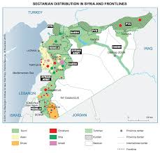 Syria War Map by These Maps Show How Ethnic Cleansing Has Become A Weapon In