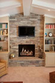 Fireplace Refacing Kits by This Faux Or Manufactured Stone Can Dress Up A Brick Fireplace